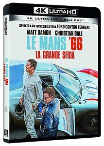 Le Mans 66. La Grande Sfida [4K Ultra HD + Blu Ray] Disney