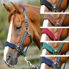 Sale Equestrian Horse Bridle Fleece Headcollar & FREE Leadrope Set Full Cob Pony