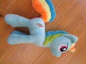Hasbro My Little Pony Rainbow Dash Blue Soft Plush Toy Unicorn Pegasus