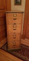 1880 - 1900's Antique Library Bureau Sole Makers Oak Filing Cabinet