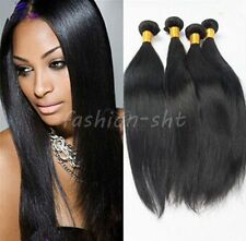 "1 Bundle 22"" Virgin Brazilian Straight Human Hair Weave Extensions 100g US Stock"