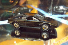2018 Hot Wheels REAL RIDERS CUSTOM LOTUS ESPRIT S1 in BLACK HW EXOTICS 7/10.