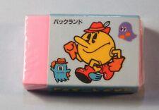 1985 Pac Land Unused still Sealed Eraser by Lyric Japan NES era  Pac Man RARE