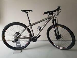 Lynskey PRO 29 Hardtail Mountain BikeCustom Titanium Race Bike Size MEDIUM