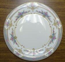 "Minton England Persian Rose Dinner Plate -10 5/8"" Gold Trim Bone China"