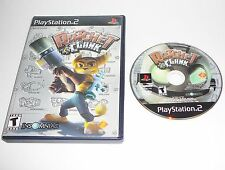 Ratchet & Clank (Sony PlayStation 2, 2003) No Manual, Cleaned & Tested