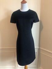 MICHAEL KORS Super LUXE Black Wool & Angora Aline Dress! 6