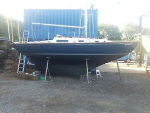 Contessa 26 sailing boat sloop classic yacht