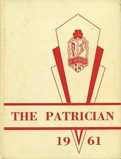 "REPRINT: 1961 St. Patrick High School Yearbook - ""Patrician"" - Olyphant PA"