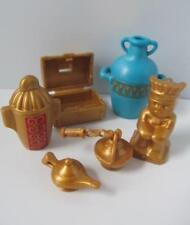 Playmobil Frasco Azul & Oro artefactos New Castle/palaceegyptian/Romano extras