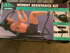NORDIC TRACK ABS WORK WEIGHT RESISTANCE KIT NEW IN BOX NIB