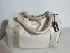 "JUST CAVALLI Tasche Bag  ""ICE"""" S11WD0034 ; Beige ; Leder / Textil   NEU"