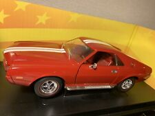 AMERICAN MUSCLE 1969 AMC AMX 1:18 SCALE ERTL LIMITED EDITION RED NIB