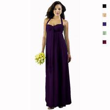 Chiffon Long Dresses for Women with Ruffle