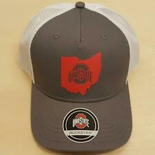 Ohio State Buckeyes Trucker Hat There State Adjustable Cap