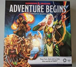 Dungeons and Dragons Adventure Begins Board Game £1 start