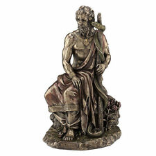 Asclepius- Greek God of Medicine, holding Asklepian home decor statue figure new