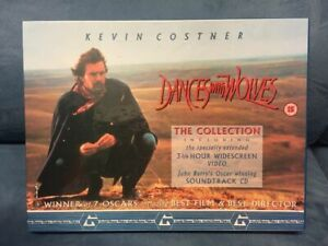 Dances With Wolves - The Collection - VHS +CD  Collectors Edition