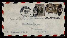 DR WHO 1946 HAITI CAP HAITIEN AIRMAIL TO USA  g17496