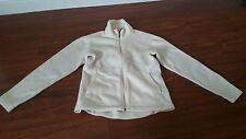 Patagonia Synchilla Women's Ladies S Soft Fleece Cream White Jacket Coat