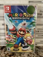 Mario + Rabbids Kingdom Battle Nintendo Switch Brand New Factory Sealed