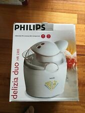 ICE - CREAM MAKER, PHILIPS, as new , Made in Austria.q
