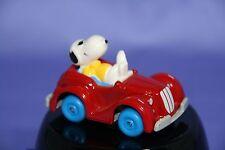 Peanuts Snoopy Rainbow Die Cast Joe Cool In Red Convertible