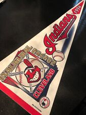Vintage 1994 Cleveland Indians Inaugural Season Pennant