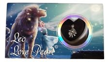 Love Pearl ZODIAC SIGN Necklace Kit, Simulated Pearl in an Oyster - LEO