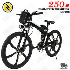 26in Folding Electric Mountain Bike Removable Large Capacity Lithium-Ion Battery