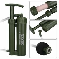 Camping Hiking Military Emergency Water Filter Purifier Survival Pump 4689