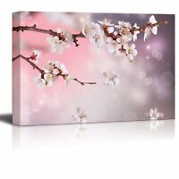 "Canvas Prints - Artistic Photograph of Sakura/Cherry Blossom in Spring-16"" x 24"""