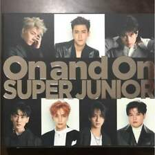SUPER JUNIOR Japan 8th Single [On and On] (CD only) E.L.F F/S Japan