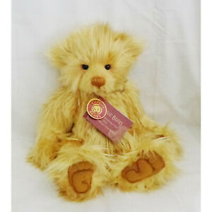"""CHARLIE BEARS """"SOVEREIGN"""" GREAT BRITISH BEAR TRAIL 2012 SIGNED"""