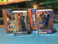 McFarlane NBA Tracy McGrady Lot Of 2 Orlando Magic Series 2,5