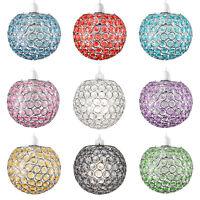Modern Acrylic Crystal Ceiling Pendant Light Shade Jewel Ball Chandeliers Shades