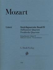 Henle Urtext Mozart String Quartets Volume 4