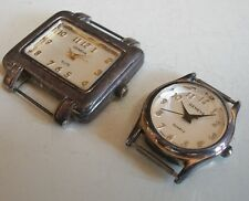 WOMEN'S SET OF 2 WATCH FACES FOR BEADING,RIBBON OR OTHER USE