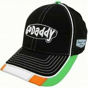 Danica Patrick #10 Go Daddy Stretch Fit  LG/XL Hat