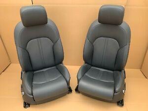 Audi A6 4G C7 RS6 S6 Comfort Front Leather Seats Mint