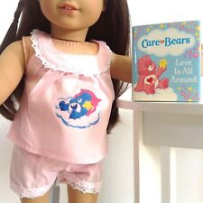 Mini Book + Pajamas For American Girl Doll 18 Inch Clothes Accessories Fit SET