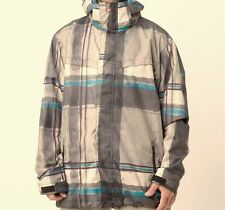 QUIKSILVER Men's LAST MISSION Prints Snow Jacket - SMO - Large - NWT - Reg $260