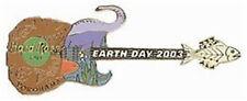 Hard Rock Cafe YOKOHAMA 2003 EARTH DAY PIN - Animals Guitar - HRC Catalog #18213