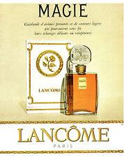 Publicité ancienne parfum Magie Lancôme Paris 1959 issue de magazine