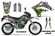 KAWASAKI KLX 250 Graphic Kit AMR Racing # Plates Decal Sticker Part 04-07 CSG