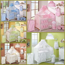 LUXURIOUS CANOPY DRAPE/MOSQUITO NET + HOLDER- 320 cm Wide for Cot or COT BED