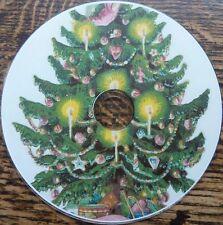 Vintage Christmas Xmas trees Snowman Animals Cards Rhymes Art 2000+ images DVD