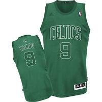 NWT Men's Adidas Boston Celtics Rajon Rondo Big Color Fashion Swingman Jersey