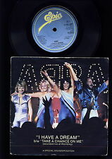 ABBA - I Have a Dream - Take a Chance on Me  - FOLD OUT COVER - UK - ENGLAND