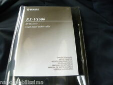 Yamaha RX-V1600 Owner's Manual  Operating Instruction  New